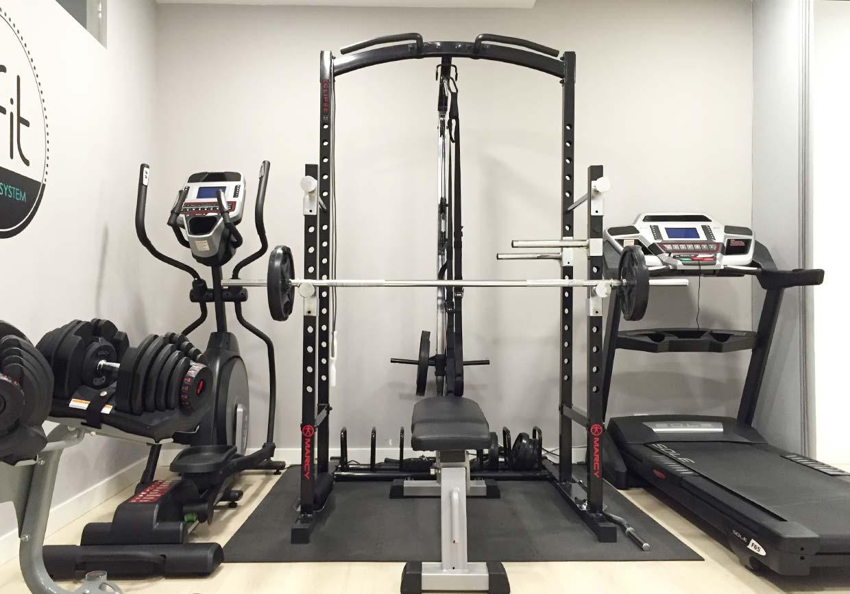 Imagen de la sala de entrenamiento personal de BFIT Getxo