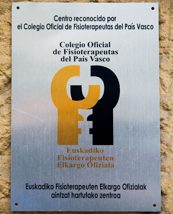 Bfit Getxo, centro reconocido por el Colegio Oficial de Fisioterapeutas del País Vasco