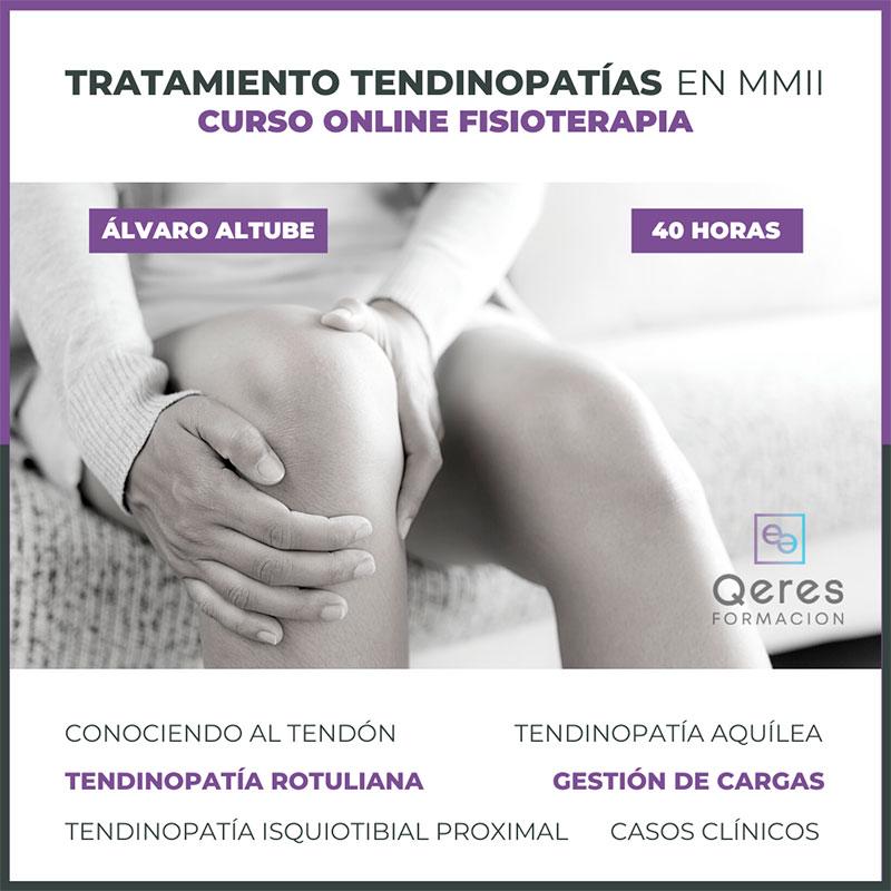 Curso online de fisioterapia sobre tratamiento de tendinopatias en mmii