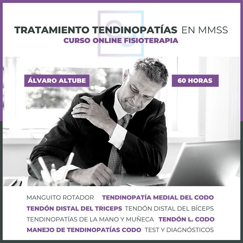 Curso online de fisioterapia sobre tratamiento de tendinopatias en mmss