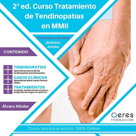 Curso sobre Tratamiento de tendinopatías en Miembro Inferior