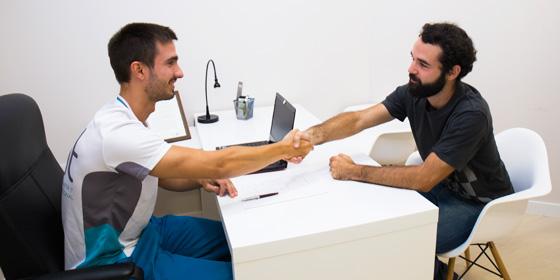Diagnóstico de fisioterapia gratuito