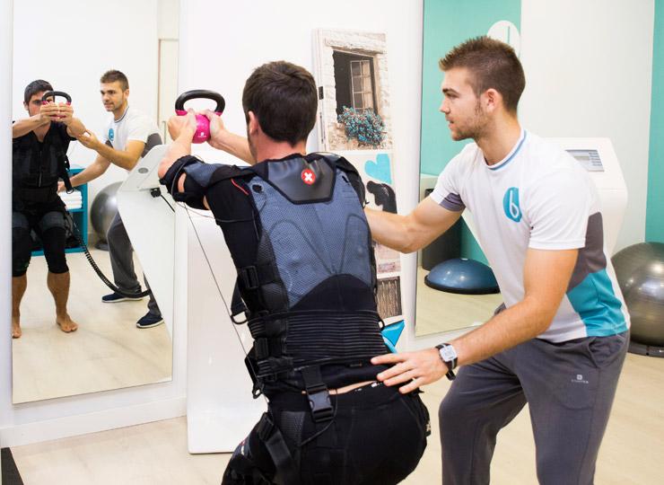 Por qué entrenar con EMS