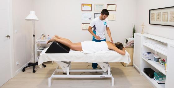 Selección de tratamiento de fisioterapia apropiado